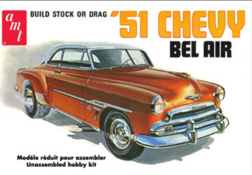 AMT-862  1/25 1951 Chevy Bel Air