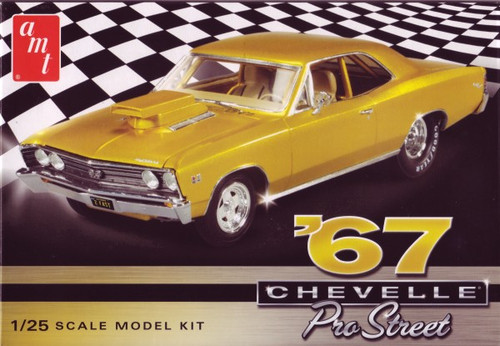 AMT-876  1/25 1967 Chevy Chevelle Pro Street Car