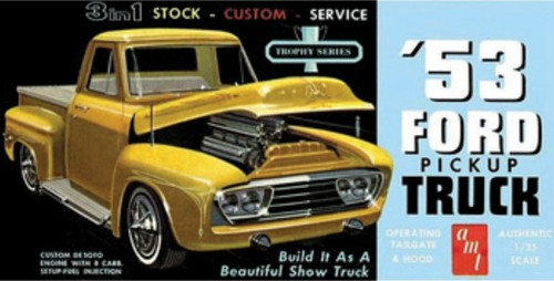 AMT-882  1/25 1953 Ford Pickup Truck