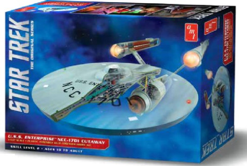 AMT-891  1/537 Star Trek USS Enterprise NCC1701 Cutaway