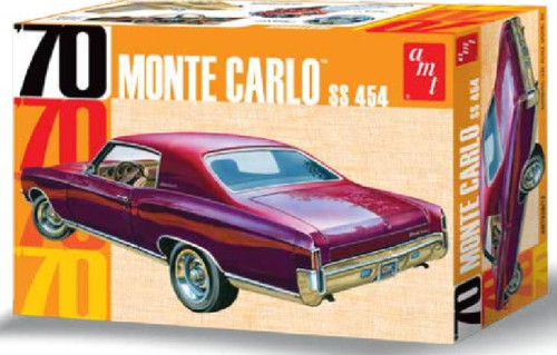 AMT-928  1970 Chevy Monte Carlo SS454 Car