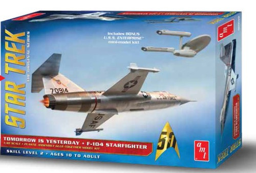 AMT-953  1/48 Star Trek Original Series Tomorrow is Yesterday F104 Starfighter A