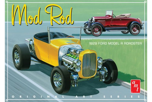 AMT-1000  1/25 1929 Ford Model A Roadster (OAS) Mod Rod