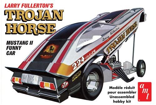 AMT-1009  1/25 1975 Ford Mustang Trojan Horse Funny Car (Larry Fullerton)