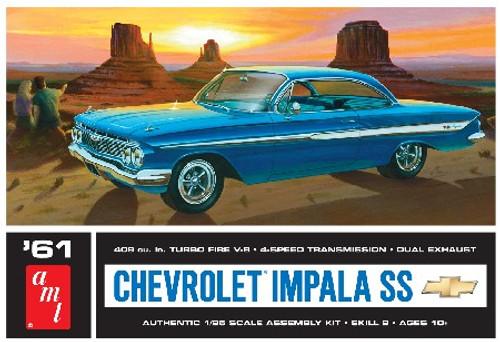 AMT-1013  1/25 1961 Chevy Impala SS Car