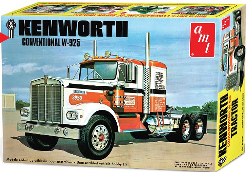 AMT-1021  1/25 Kenworth W925 Conventional Tractor Cab
