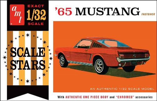 AMT-1042  1/32 1965 Ford Mustang Fastback