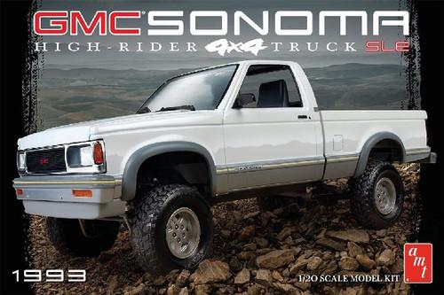 AMT-1057  1/20 1993 GMC Sonoma 4x4 Pickup Truck