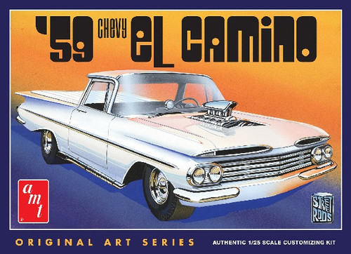 AMT-1058  1/25 1959 Chevy El Camino Customizing Car