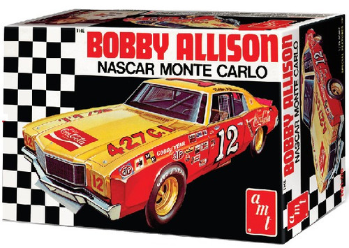 AMT-1064  1/25 Bobby Allison's 1972 Coca Cola Chevy Monte Carlo Race Car