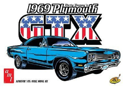 AMT-1065  1/25 Dirty Donny 1969 Plymouth GTX