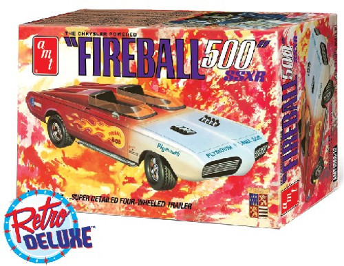 AMT-1068  1/25 George Barris Fireball 500 SSXR Car(Commemorative Edition)