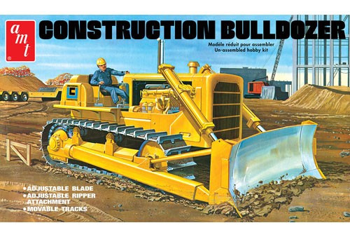 AMT-1086  1/25 Construction Bulldozer
