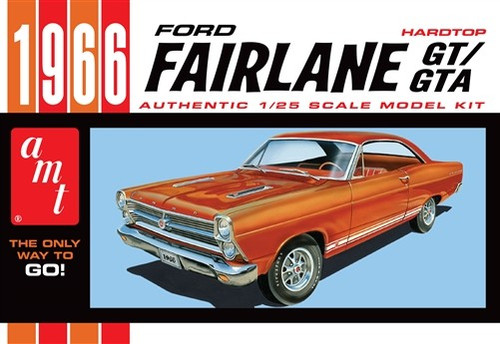 AMT-1091  1/25 1966 Ford Fairlane GT