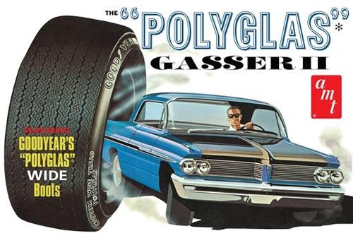 AMT-1092  1/25 1962 Pontiac Catalina Polyglas Gasser II