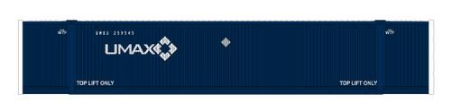 N MAXI-IV 53' Stack Car 3pk TTX New Logo #766519 w/UMAX Cont