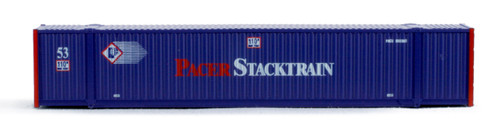 N MAXI-IV 53' Stack Car 3pk Pacer #6066 w/Pacer Containers