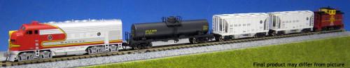 N F7 SF Freight Train Set w/o Track/LokSound