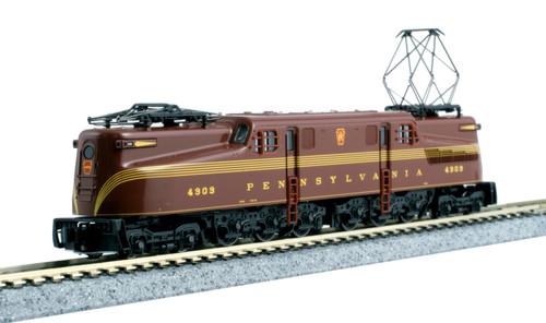N GG-1 PRR #4909/Tuscan 5-stripe/DCC
