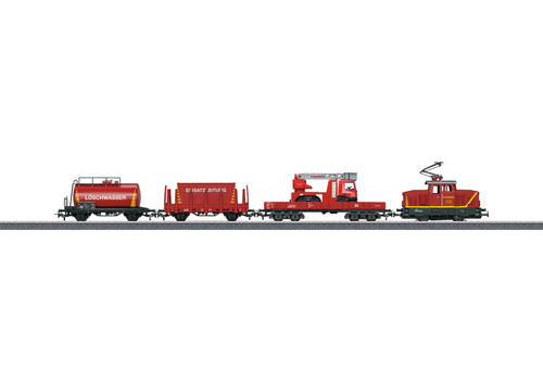"2020 Marklin 29722 Start up ""Fire Department"" Starter Set"