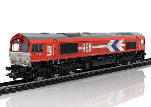 2020 Marklin 39060 Dgtl Diesel Locomotive EMD Serie 66, HGK,Ep.VI