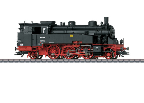 2020 Marklin 39758 Dgtl Steam Locomotive BR 75.4/10-11,DR/DDR, III