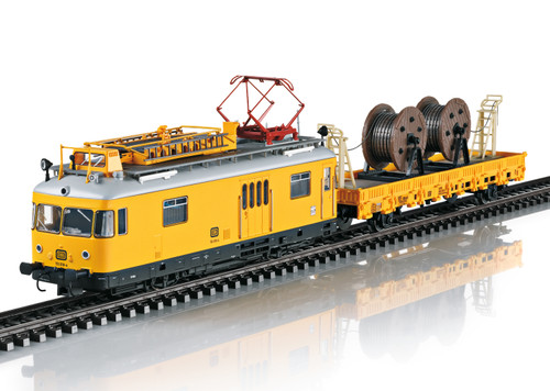 2020 Marklin 39973 Dgtl Class 701 Powered Catenary Maintenance Rail Car Kbs, DB, IV