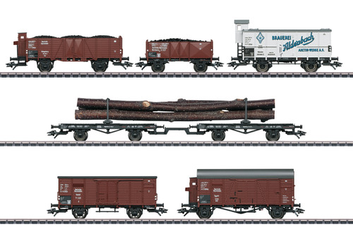 2020 Marklin 46017 Freight Car Set for BR 95, DRG, Ep. II