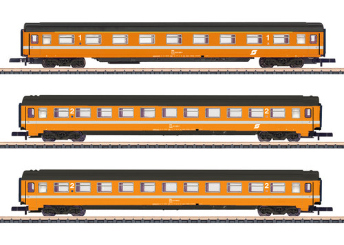 2020 Marklin 87343 Car Set Eurofima ÖBB Ep. IV