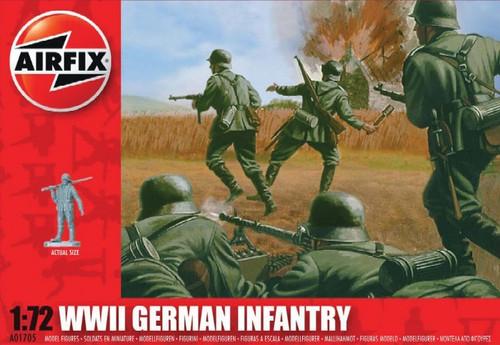 ARX-1705  1/72 WWII German Infantry Figure Set