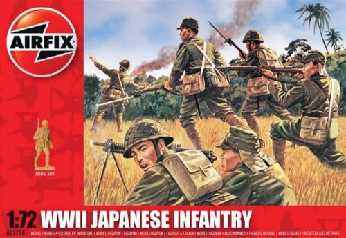 ARX-1718  1/72 WWII Japanese Infantry Figure Set