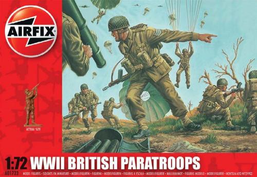 ARX-1723  1/72 British Paratroopers Figure Set