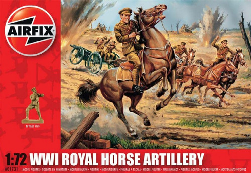 ARX-1731  1/72 WWI Royal Horse Artillery Figure Set