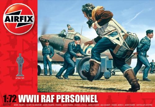 ARX-1747  1/72 WWII RAF Personnel Figure Set