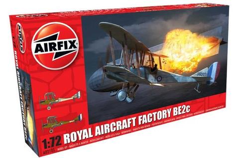 ARX-2101  1/72 Factory BE2C RAF Biplane Night Fighter
