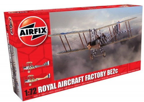 ARX-2104  1/72 Factory BE2C Scout Recon RAF Biplane
