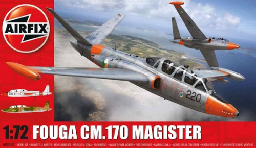 ARX-3050  1/72 Fouga CM170 Magister 2-Seater Twin-Jet Trainer Aircraft