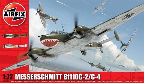 ARX-3080  1/72 Bf110C2/C4 Fighter