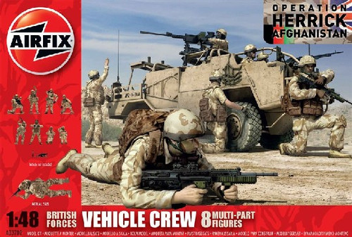 ARX-3702  1/48 British Forces Vehicle Crew Operation Herrick Afghanistan