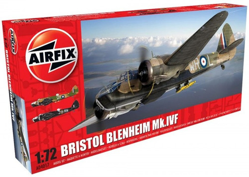 ARX-4017  1/72 Bristol Blenheim Mk IVF Fighter