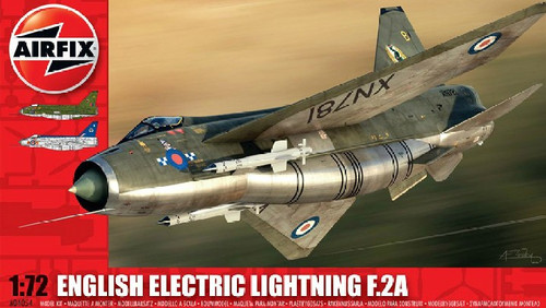 ARX-4054  1/72 EE Lightning F2A Supersonic Jet Fighter