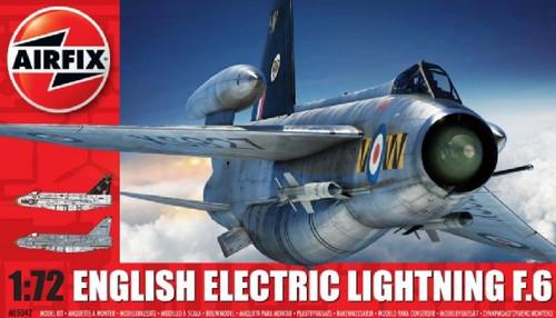 ARX-5042  1/72 EE Lightning F6 Single-Seater Fighter