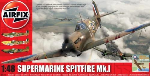 ARX-5126  1/48 Supermarine Spitfire Mk I RAF Aircraft