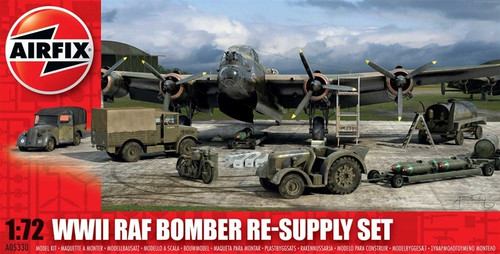 ARX-5330  1/72 WWII RAF Bomber Re-Supply Set