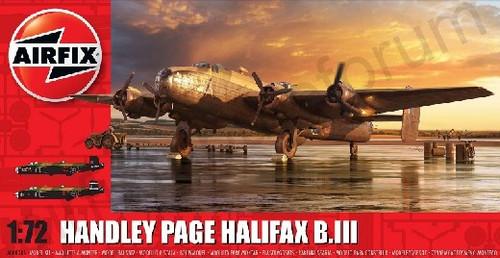 ARX-6008  1/72 Handley Page Halifax B Mk III Aircraft