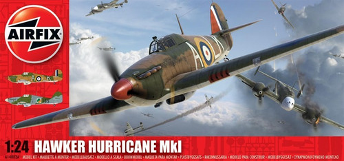 ARX-14002  1/24 Hawker Hurricane Mk 1 Aircraft