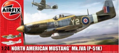ARX-14003  1/24 P51K Mustang Mk IV A Fighter
