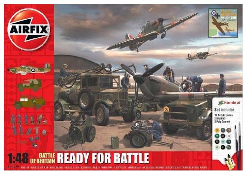 ARX-50172  1/48 Battle of Britain Ready for Battle Gift Set w/paint & glue