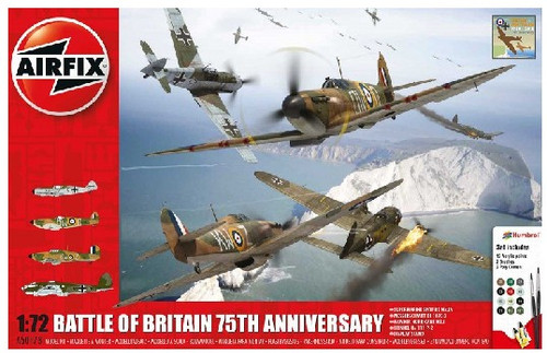 ARX-50173  1/72 Battle of Britain 75th Anniversary Gift Set w/paint & glue