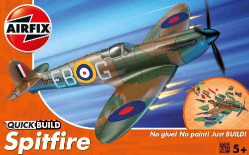 ARX-J6000  Quick Build Spitfire Fighter (Snap)